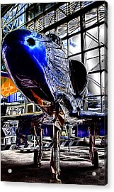 The Navy's Blue Angel Acrylic Print by David Patterson