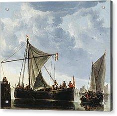 The Passage Boat Acrylic Print