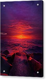 Acrylic Print featuring the photograph The Path by Phil Koch