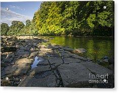 The River Swale Acrylic Print by Nichola Denny
