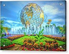The Unisphere Acrylic Print