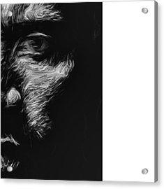 @therock #dwaynejohnson #nfl #disney Acrylic Print by David Haskett