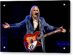 Tom Petty Collection Acrylic Print