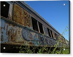Acrylic Print featuring the photograph Train Art by Dart Humeston