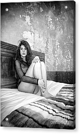 Trust Yourself Then You Will Know How To Live Acrylic Print by Traven Milovich