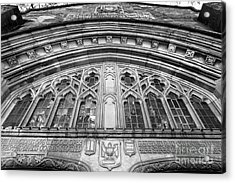 University Of Michigan Law Library Acrylic Print by University Icons