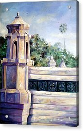 Acrylic Print featuring the painting Untitled by Chonkhet Phanwichien