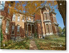 Vaile Mansion Acrylic Print by Liane Wright