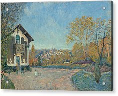View Of Marly-le-roi From Coeur-volant Acrylic Print by Alfred Sisley