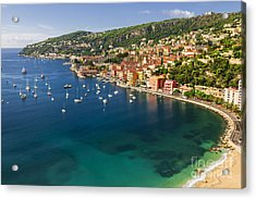 Villefranche-sur-mer View On French Riviera Acrylic Print