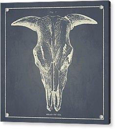 Vintage Ox Head Acrylic Print
