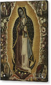 Virgin Of Guadalupe Acrylic Print