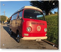 Volkswagen Bus T2 Westfalia Acrylic Print