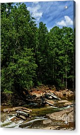 Acrylic Print featuring the photograph Williams River After The Flood by Thomas R Fletcher