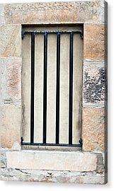 Window Bars Acrylic Print