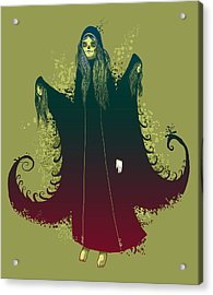 3 Witches Acrylic Print by Michael Myers