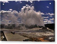 Yellowstone Sky Acrylic Print by Patrick  Flynn