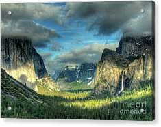 Yosemite Valley Acrylic Print by Marc Bittan