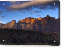 Zion National Park Utah Acrylic Print by Utah Images
