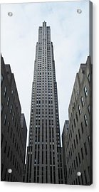 Acrylic Print featuring the photograph 30 Rockefeller Center by Christopher Kirby