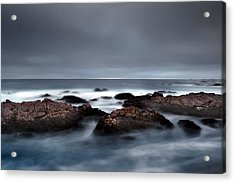 30 Seconds Of Moonlight Acrylic Print by Mike Irwin