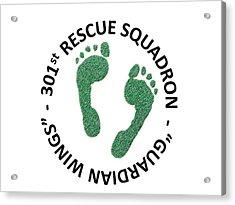 301st Rescue Squadron Acrylic Print by Julio Lopez