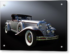 31 Chrysler Imperial Acrylic Print by Bill Dutting