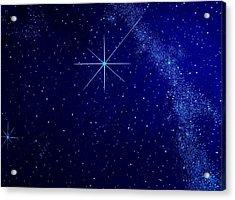 Cosmic Light Series Acrylic Print by Len Sodenkamp
