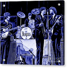 The Beatles Collection Acrylic Print