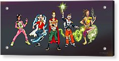 311 Day 2003  Acrylic Print by Brian Child