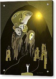 316  An Arrival Of The Gods A  Acrylic Print