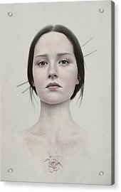 318 Acrylic Print by Diego Fernandez