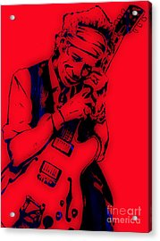 Keith Richards Collection Acrylic Print