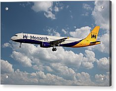 Monarch Airbus A321-231 Acrylic Print