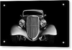 Acrylic Print featuring the digital art '33 Ford Hotrod by Douglas Pittman