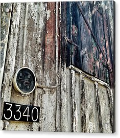 Acrylic Print featuring the photograph 3340 by Olivier Calas