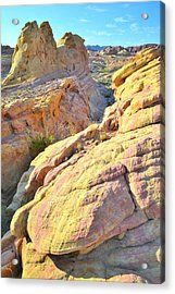 Valley Of Fire Acrylic Print by Ray Mathis