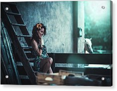 Acrylic Print featuring the photograph ... by Traven Milovich