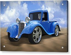 34 Dodge Pickup Acrylic Print by Mike McGlothlen