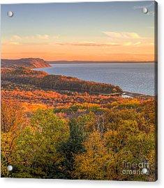 Fall In Sleeping Bear Dunes Acrylic Print