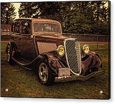 Cool 34 Ford Four Door Sedan Acrylic Print