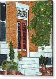 347 Warren Acrylic Print by John Schuller