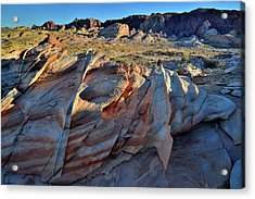 Acrylic Print featuring the photograph Colorful Sandstone In Valley Of Fire by Ray Mathis