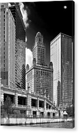 35 East Wacker Chicago - Jewelers Building Acrylic Print