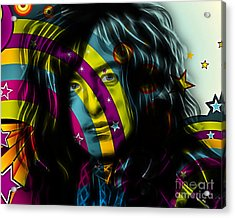 Jimmy Page Collection Acrylic Print