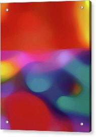 Translucent Abstractions Series Acrylic Print