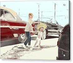 35th St. Palmdale Acrylic Print