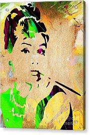 Audrey Hepburn Collection Acrylic Print