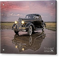 36 Plymouth Reflections Acrylic Print