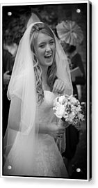 Tim And Finn Wedding 2012 Acrylic Print by Chris Boulton